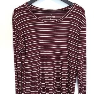 AEO Soft and Sexy Long Sleeve Striped T-Shirt